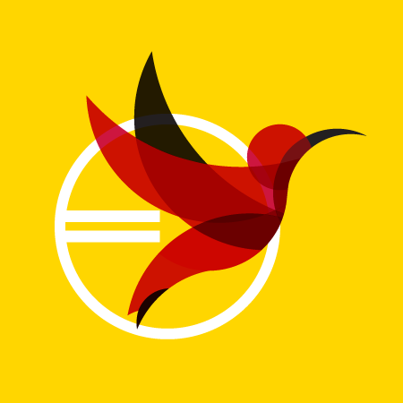 NAASSC hummingbird graphic element